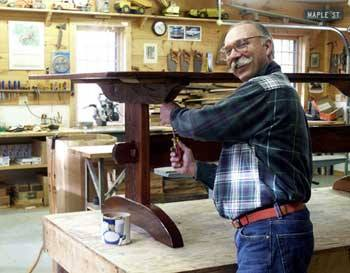 Steve Wallace Is An Artist/craftsman Who Apprenticed With The Founder And  Owner, Dick Kiusalas, Of The West Barnstable Table Co. Starting In 1995 And  ...